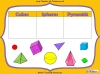 Sorting 3D Shapes - Year 1 (slide 6/26)