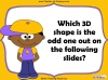 Sorting 3D Shapes - Year 1 (slide 9/26)