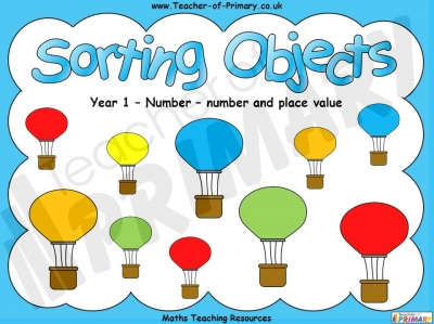 Sorting Objects - Year 1