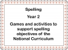 Spelling - Year 2 (slide 1/49)