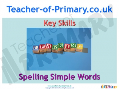 Spelling simple words