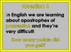 Spellings Dictation Year 3 and Year 4 (slide 78/108)