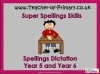Spellings Dictation Year 5 and Year 6 (slide 1/95)