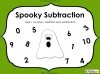 Spooky Subtraction - Year 1 (slide 1/18)