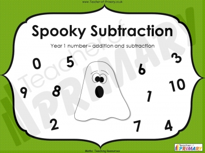 Spooky Subtraction - Year 1