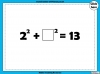Square Numbers - Year 5 (slide 12/24)