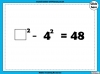 Square Numbers - Year 5 (slide 13/24)
