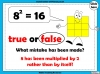 Square Numbers - Year 5 (slide 17/24)