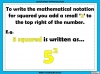 Square Numbers - Year 5 (slide 4/24)