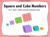 Square and Cube Numbers - Year 6