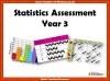 Statistics Assessment  - Year 3 (slide 1/5)