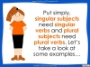 Subject - Verb Agreement - Year 5 and 6 (slide 15/35)