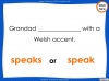 Subject - Verb Agreement - Year 5 and 6 (slide 31/35)