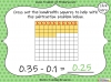 Subtracting Decimals Within 1  - Year 5 (slide 21/39)