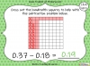 Subtracting Decimals Within 1  - Year 5 (slide 24/39)