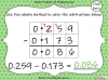 Subtracting Decimals Within 1  - Year 5 (slide 32/39)