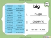 Synonyms - Year 3 and 4 (slide 11/24)