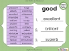 Synonyms - Year 3 and 4 (slide 12/24)