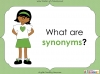 Synonyms - Year 3 and 4 (slide 4/24)