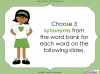 Synonyms - Year 3 and 4 (slide 9/24)