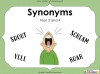 Synonyms - Year 3 and 4