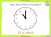 Telling the Time - Year 2 (slide 21/64)