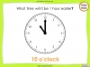 Telling the Time - Year 2 (slide 25/64)