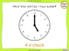 Telling the Time - Year 2 (slide 26/64)