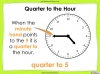 Telling the Time - Year 2 (slide 29/64)