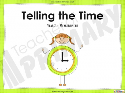 Telling the Time - Year 2