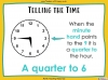 Telling the Time - Year 3 (slide 11/93)