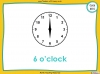 Telling the Time - Year 3 (slide 15/93)