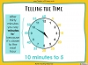 Telling the Time - Year 3 (slide 20/93)