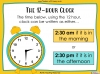Telling the Time - Year 3 (slide 43/93)
