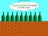 Ten Green Bottles - EYFS (slide 9/42)