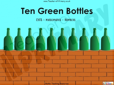 Ten Green Bottles - EYFS