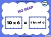 Ten Times Table Snap (slide 10/22)