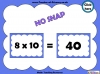 Ten Times Table Snap (slide 14/22)