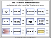 Ten Times Table Snap (slide 15/22)