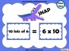 Ten Times Table Snap (slide 6/22)