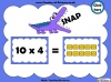 Ten Times Table Snap (slide 8/22)