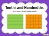 Tenths and Hundredths - Year 4 (slide 1/24)