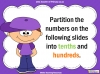Tenths and Hundredths - Year 4 (slide 13/24)