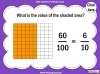 Tenths and Hundredths - Year 4 (slide 9/24)