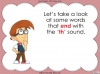 The 'th' Sound - EYFS (slide 9/46)