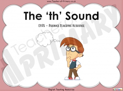 The 'th' Sound - EYFS
