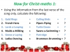 The 12 Days of Christ-maths (slide 4/9)
