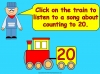 The 20 Train - Counting to 20 (slide 2/38)