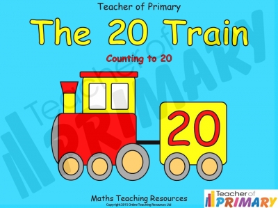 The 20 Train - Counting to 20