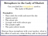 The Lady of Shalott (slide 120/144)